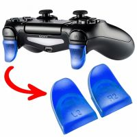 Blue Clear Trigger Extenders