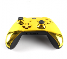 Personalized Gold Chrome Xbox One Controller