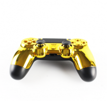 Personalized Gold Chrome PS4 Controller