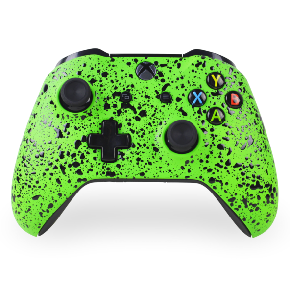 Green 3D Splatter